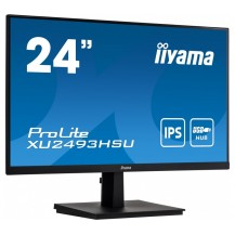"Monitor iiyama ProLite XU2493HSU-B1 24"" UltraSlim IPS FlickerFree BlueLightReducer USB"