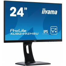 Monitor iiyama ProLite XUB2492HSU-B1 UltraSlim IPS FlickerFree BlueLightReducer