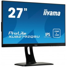 Monitor iiyama ProLite XUB2792QSU-B1 27'' WQHD IPS FlickerFree BlueLightReducer