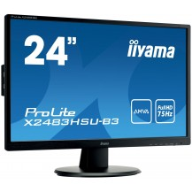 Monitor iiyama ProLite X2483HSU-B3 24'' FLICKER FREE FULL HD LED