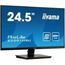 "Monitor iiyama ProLite E2591HSU-B1 25"" FullHD FlickerFree BlueLightReduction"